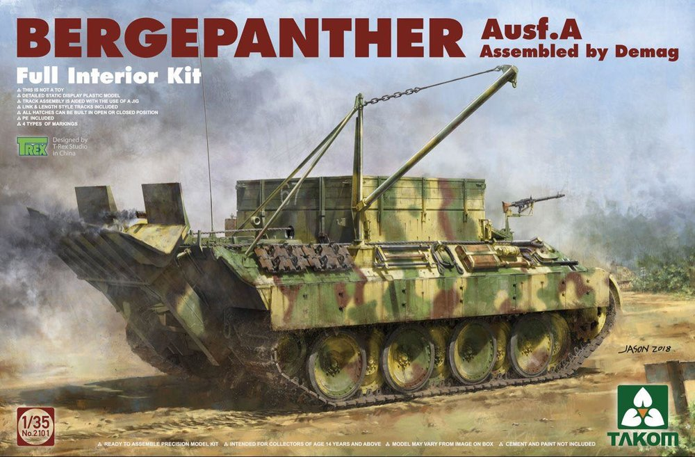 TAKOM KIT # 2101 1-35 Bergepanther AUSF.A (ASSEMBLED BY DEMAG) Full Interior kit.jpg