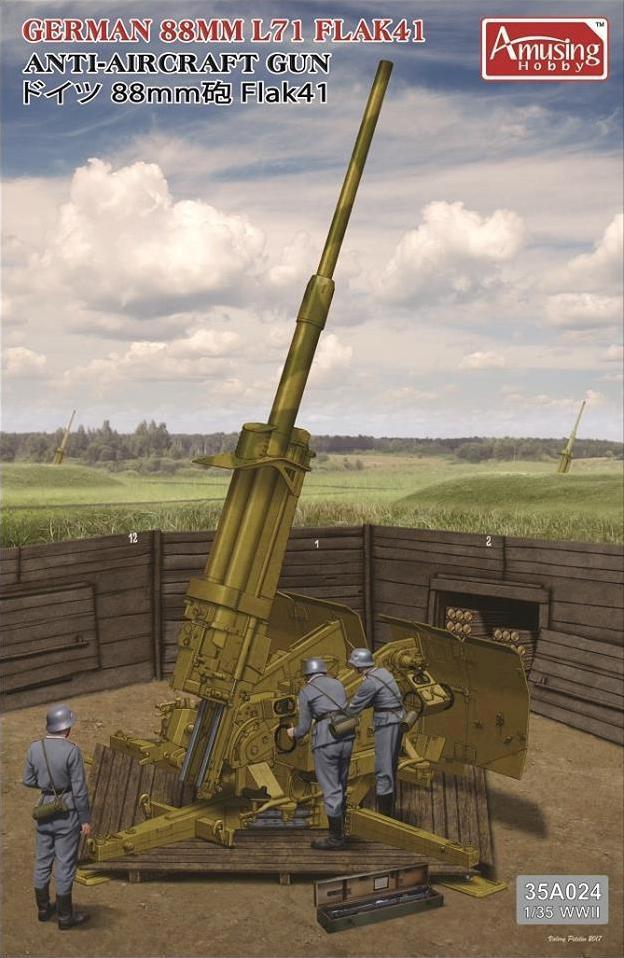 AMUSING HOBBY 35A024 1-35 GERMAN 88mm L71 ANTI-AIRCRAFT GUN.jpg