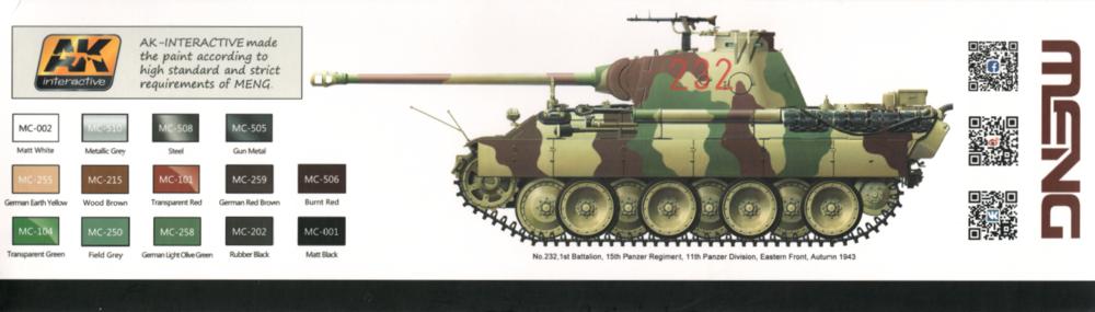 Kuvahaun tulos haulle meng German Medium Tank Sd.Kfz.171 Panther Ausf.D