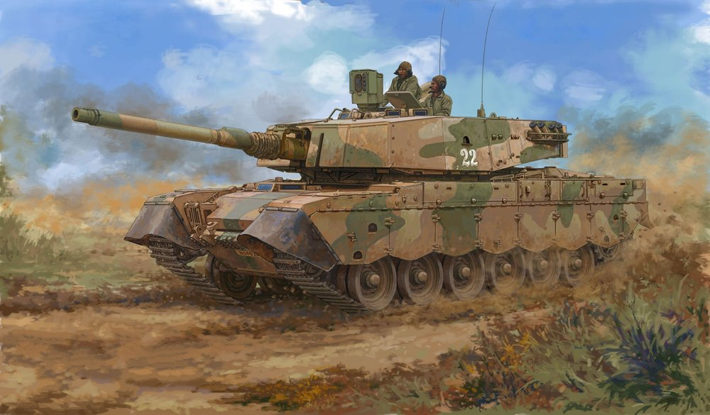 Hobby Boss 83897 1-35 South African Olifant Mk.2 MBT.jpg