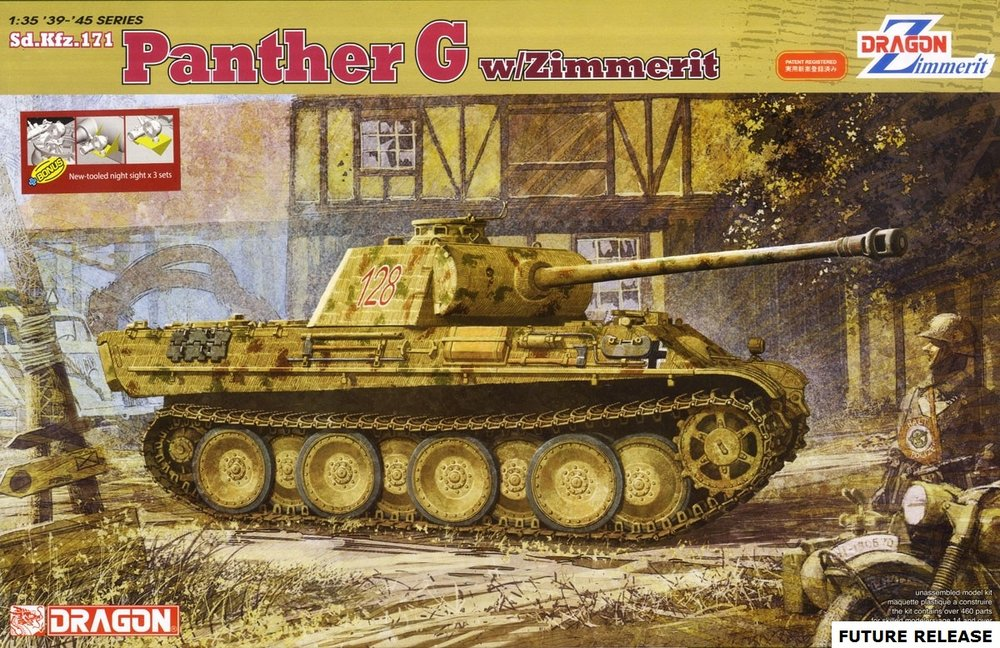 DRAGON KIT # 6384NV 1-35  SD.KFZ.171 PANTHER G wZIMMERIT, INFRARED NIGHT VISION DEVICES.jpg