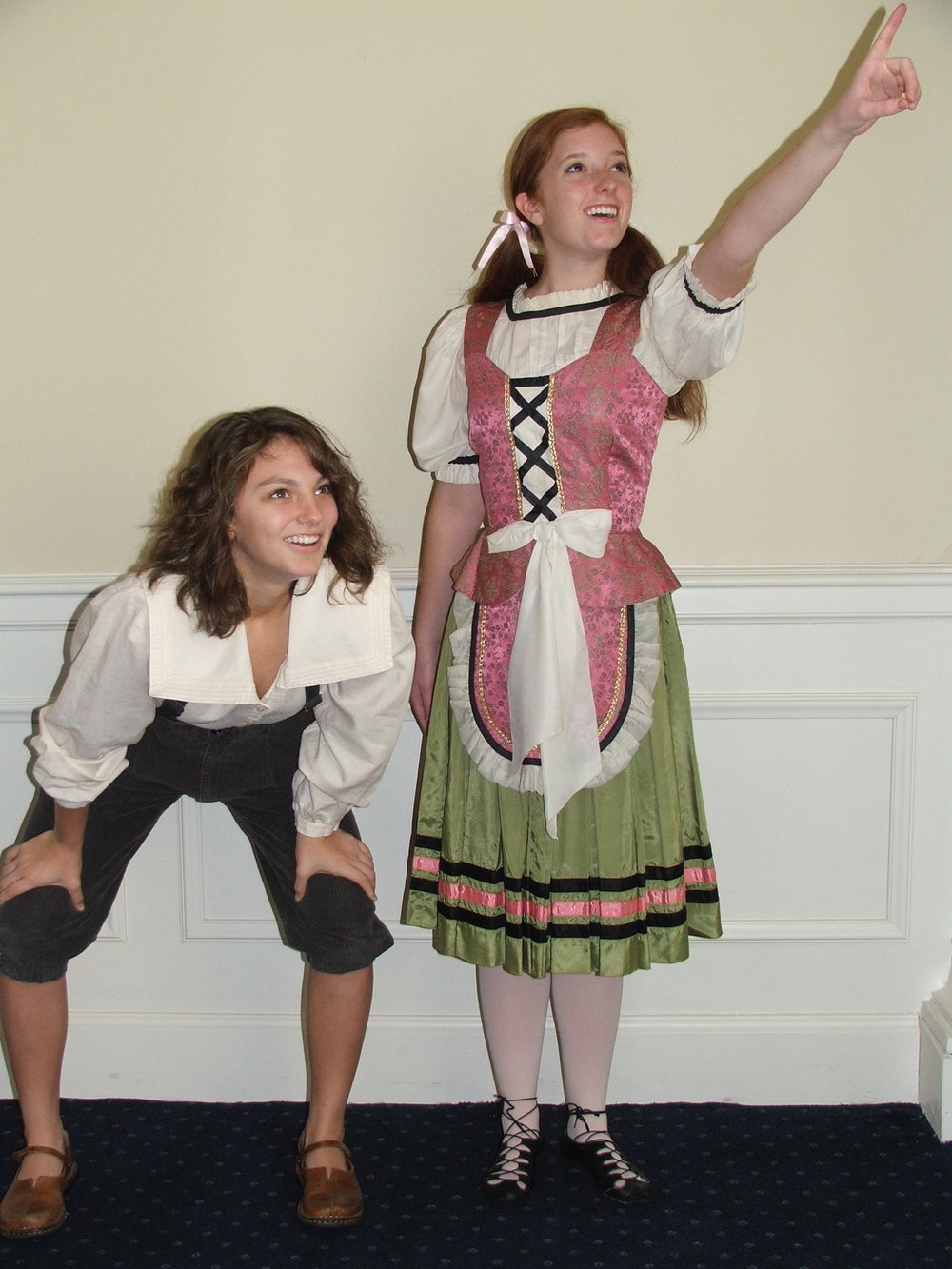 Colleen and Elizabeth as Hansel and Gretel, Opera Scenes