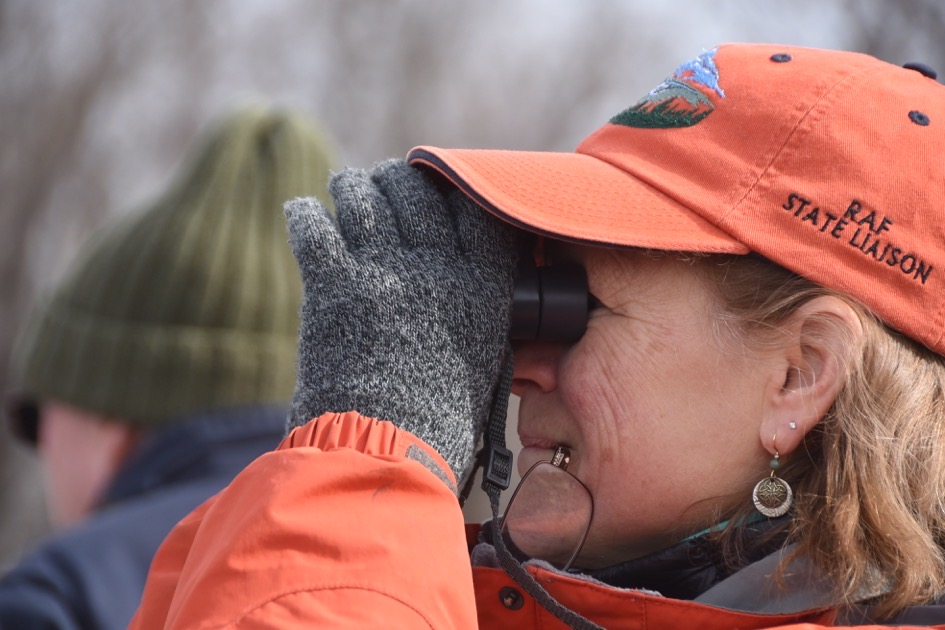 Bird watching in Chautauqua National Wildlife Refuge, a RAF sponsored event