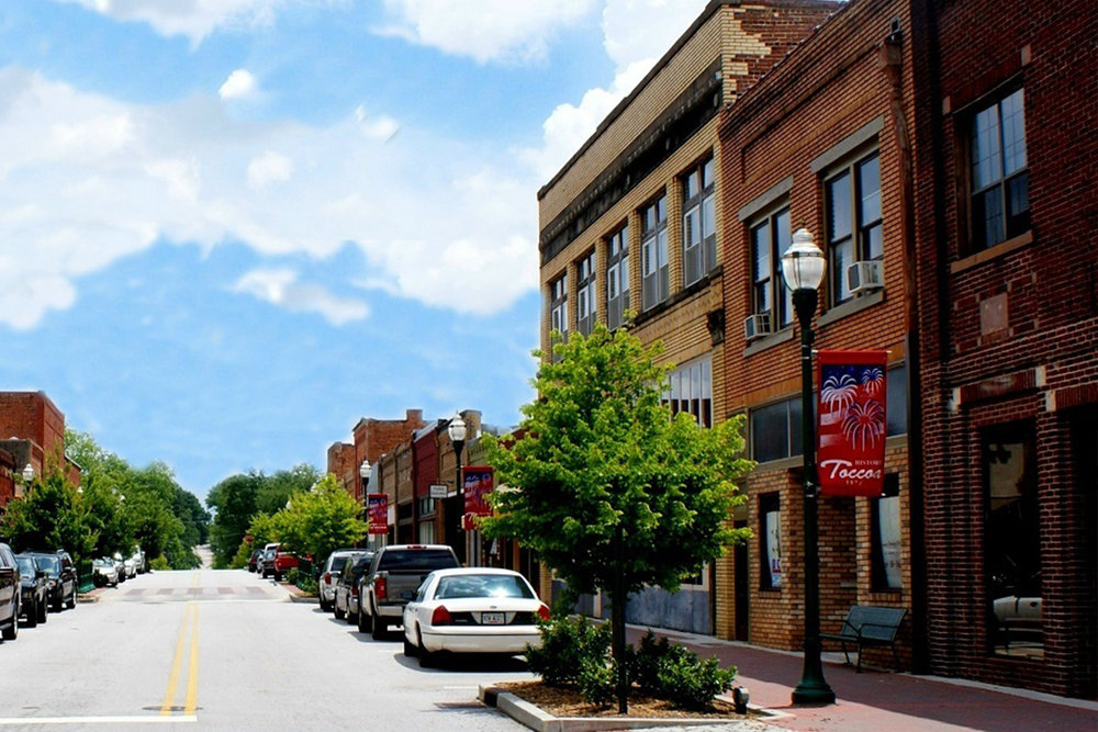 historic downtown toccoa - Downtown features restaurants, antique shops, boutiques, and other specialty shops, and is anchored by City Hall, the Historic County Courthouse, and the Ritz Theatre.VISIT WEBSITE →