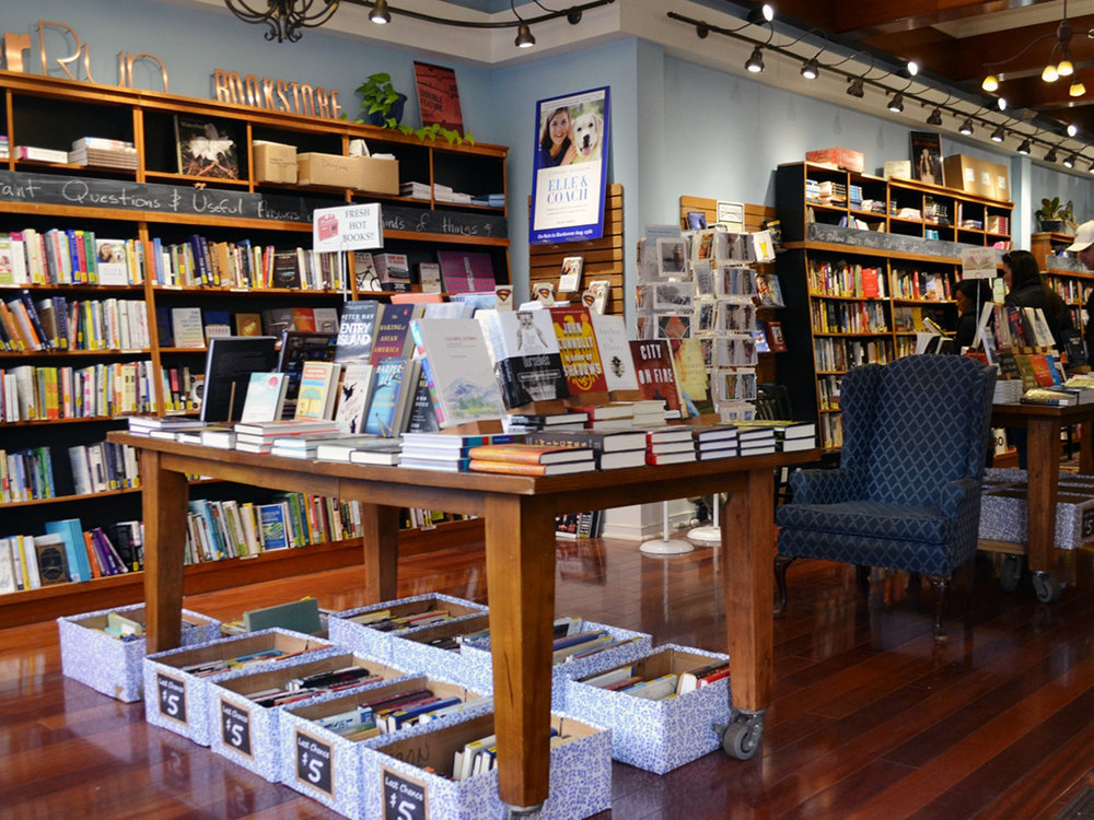[ash-ling] booksellers - Located in downtown Toccoa, Ga [ash-ling] Booksellers is an independent bookstore, coffee bar, and art gallery. Opened by the Handwork family in 2008, the bookstore has become a central hub for the local community to gather around. VISIT WEBSITE →