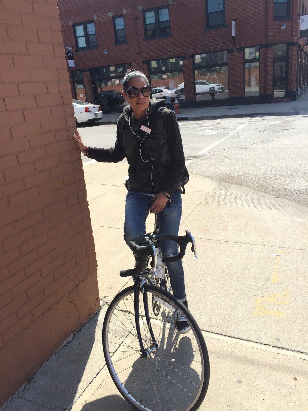Rachel Gardiner - Urban Cyclist