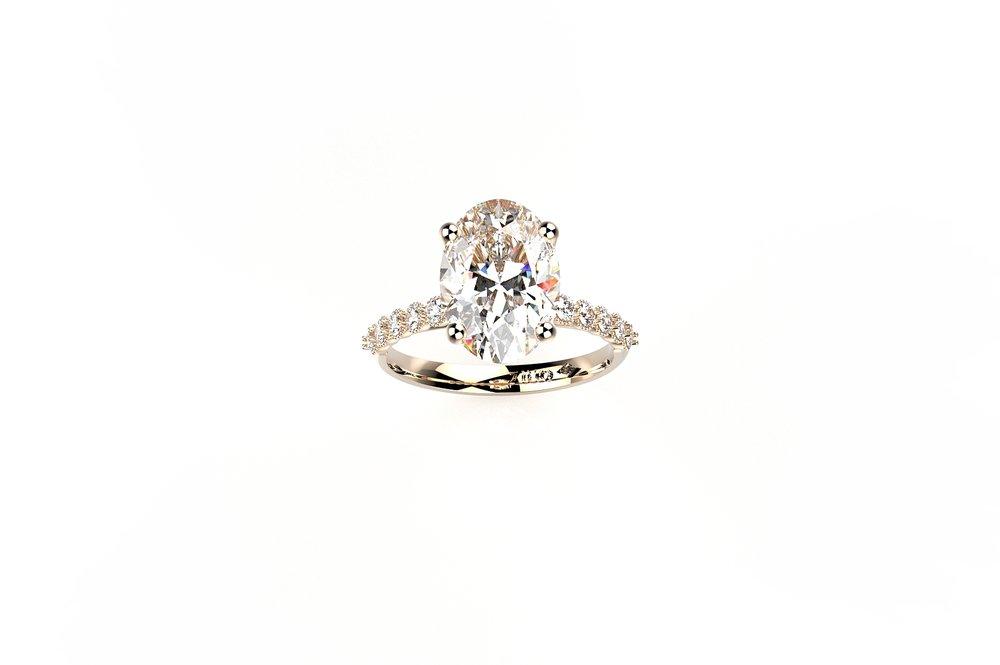 Danielle zino engagement ring