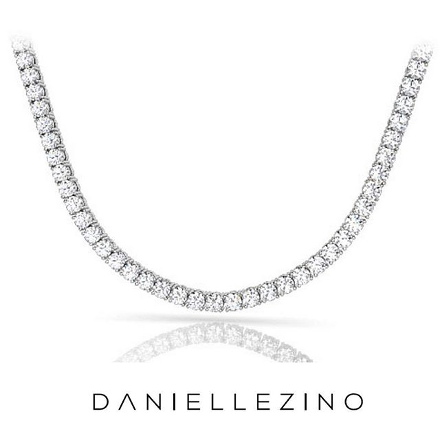 When classy becomes really chic... Tennis necklaces ❤️ #daniellezinojewelry #nyc . . . . . . #jewellery #jewelrydesigner #fashion #jewelrydesign #follow #jewelry #jewelryaddict #beautiful #happy #gold #diamond #amazing #style #yellowgold #whitegold #luxury #classy #diamondnecklace #tennisnecklace #necklace #shine