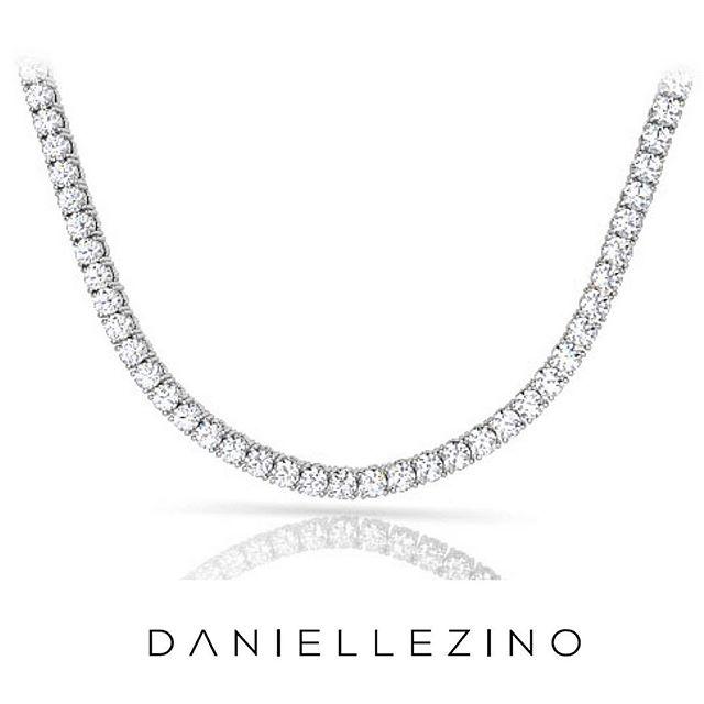 When classy becomes really chic... Tennis necklaces ❤️ #daniellezinojewelry #nyc . . . . . . #jewellery #jewelrydesigner #fashion #jewelrydesign #follow #jewelry #jewelryaddict #beautiful #happy #gold #diamond #amazing #style #yellowgold #whitegold #luxury #classy #diamondnecklace #tennisnecklace #necklace #shine