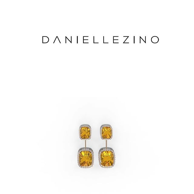 Colorful earrings for a colorful new week 💓✨💫 #daniellezinojewelry #nyc . . . . . . . #jewellery #jewelrydesigner #fashion #jewelrydesign #follow #jewelry #jewelryaddict #beautiful #happy #gold #diamond #amazing #style #yellowgold #smile #luxury #classy #earrings #sapphire #shine