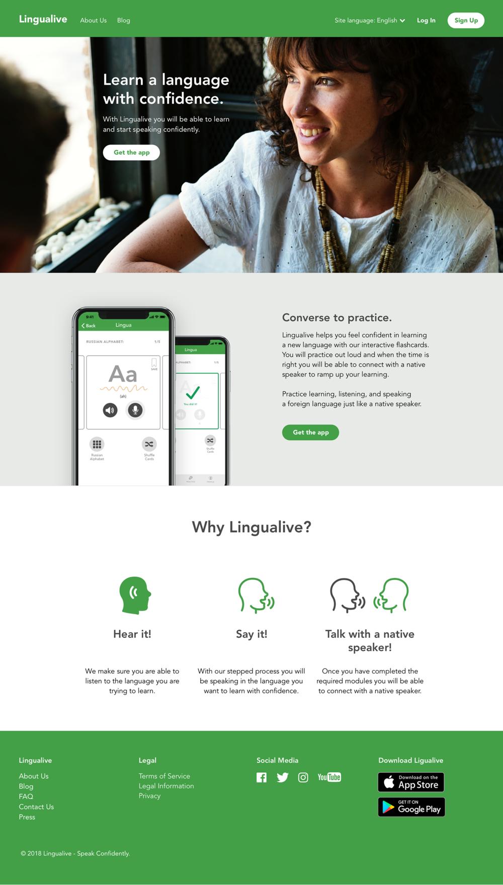 lingualive-website