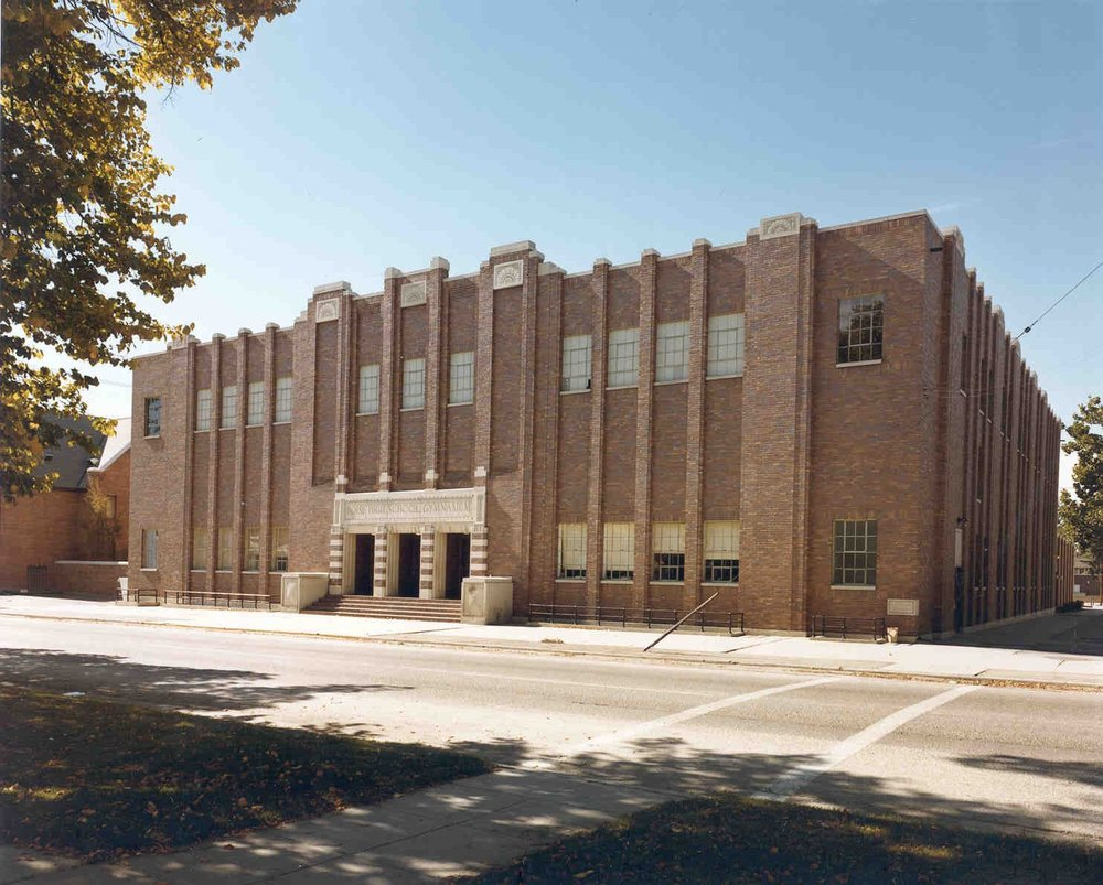Boise High SChool Gymnasium : 1937 -