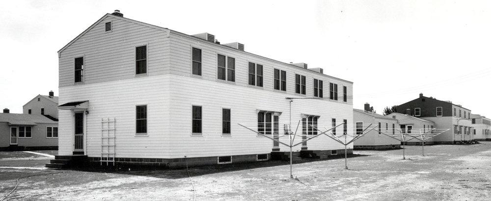 "NCO Housing Quarters : 1941 - ""Sargent City"" - Overland & Latah"