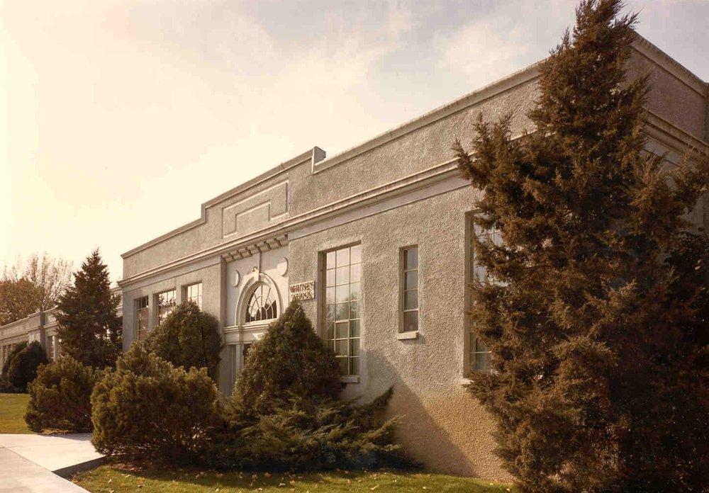 Whitney school addition : 1947 -