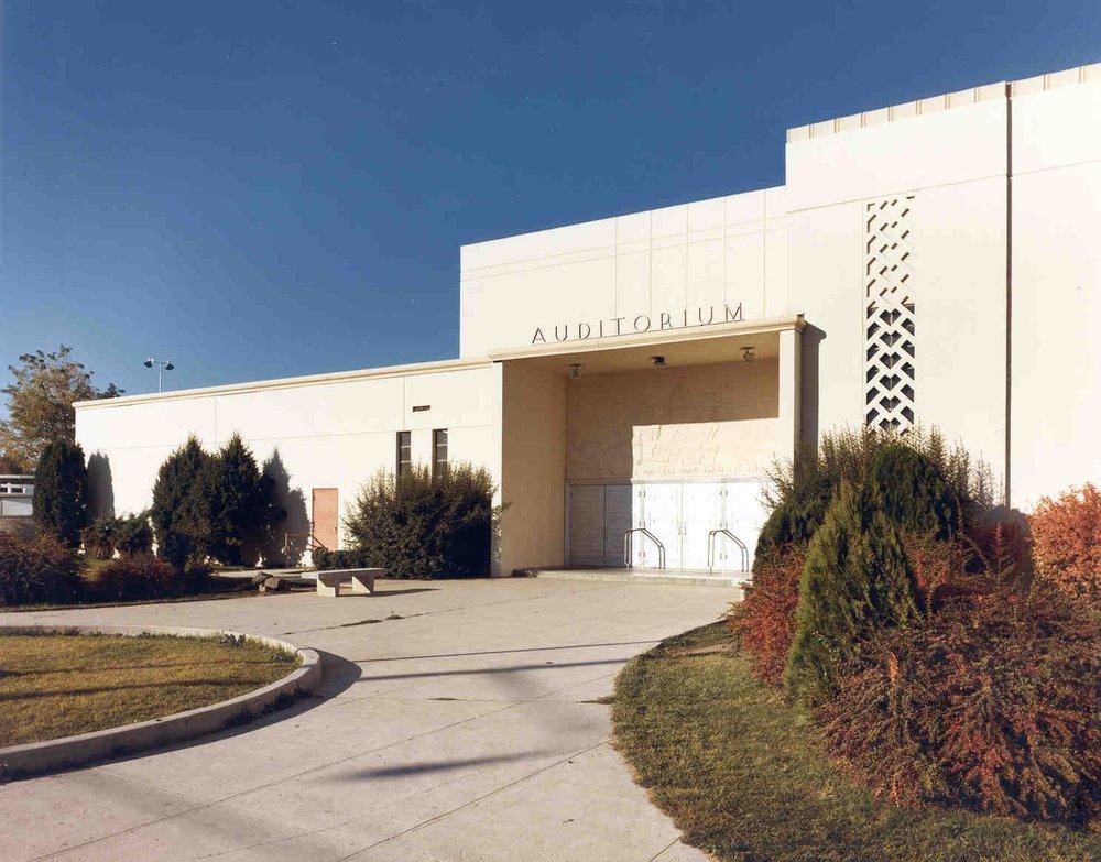 South Junior High Auditiorium : 1950 -
