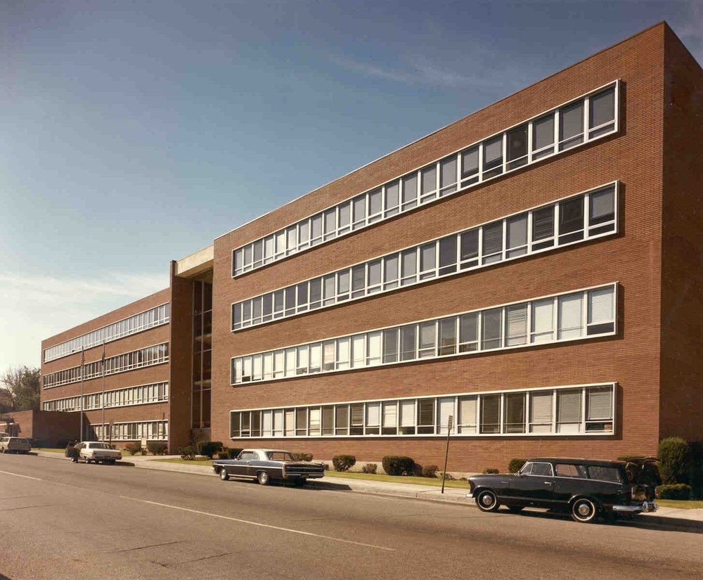 Idaho State Industrial Administration Building : 1956 -