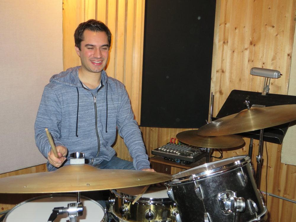2017 - Kareem Sanjaghi Band Recording (Westwood, MA)