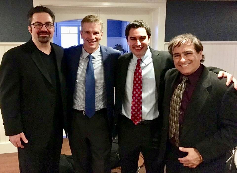 2017 - Sal DiFusco, Mark Greel, Kareem, & Perry Rossi @ Hyannis Yacht Club (Hyannis, MA)