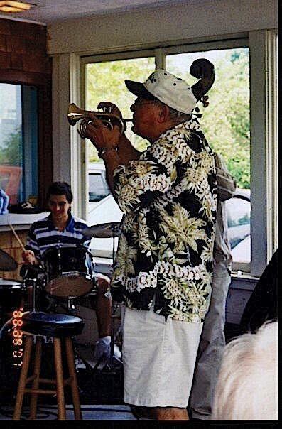 2007 - Kareem with Lou Colombo (East Dennis, MA)