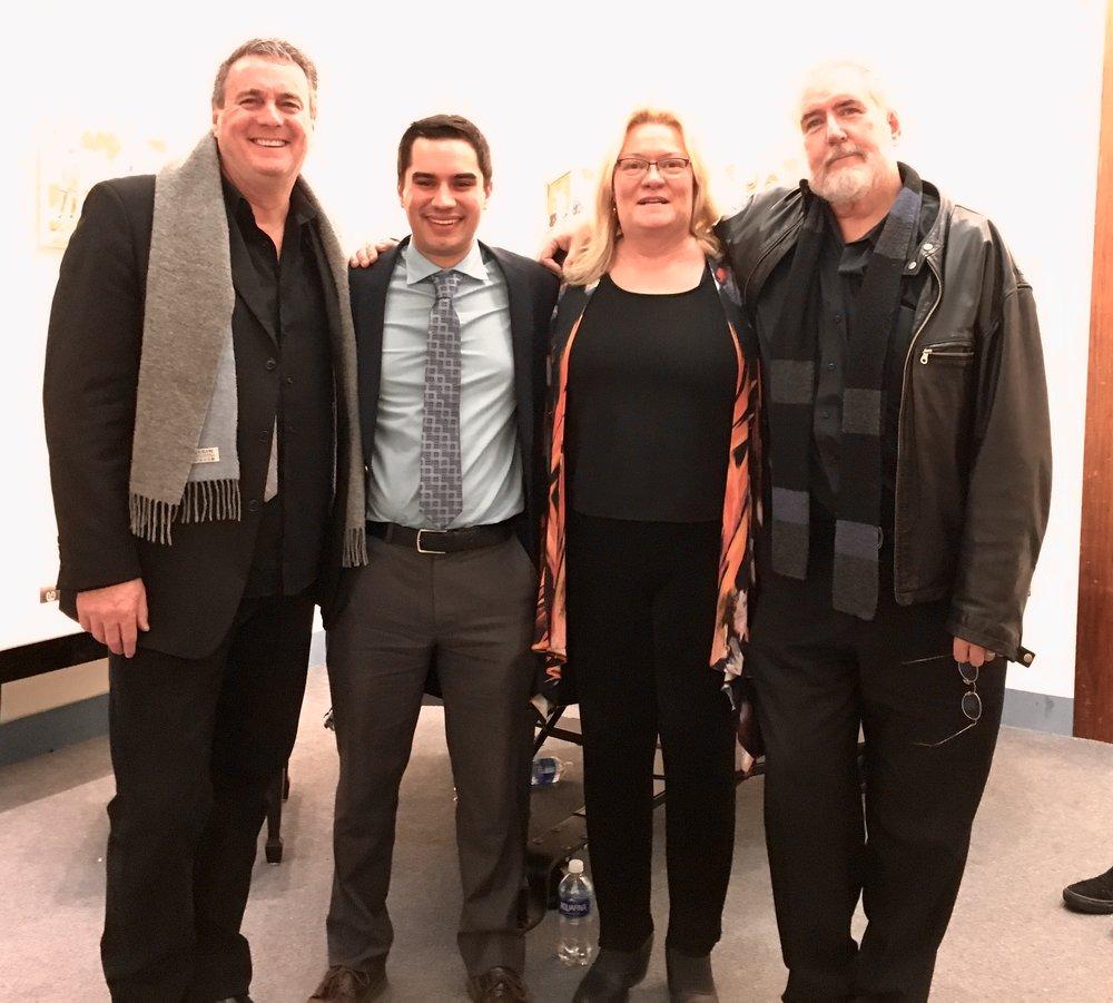 2018 - Fred Boyle, Kareem, Ann Austin, & Rich Hill @ Wellfleet Library (Wellfleet, MA)