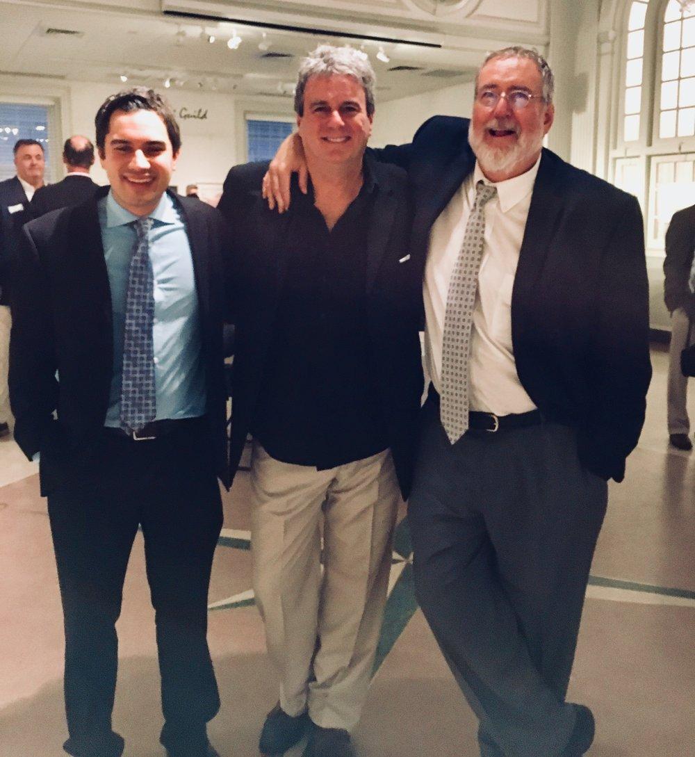 2018 - Kareem, Fred Boyle, & Rich Hill