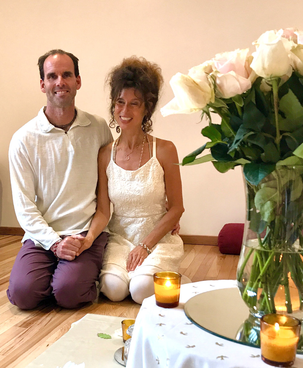 Christopher & Daniela, Yoga Farm Directors
