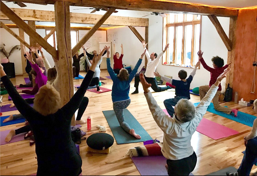 Sacred Sunday Yoga (our free weekly class)