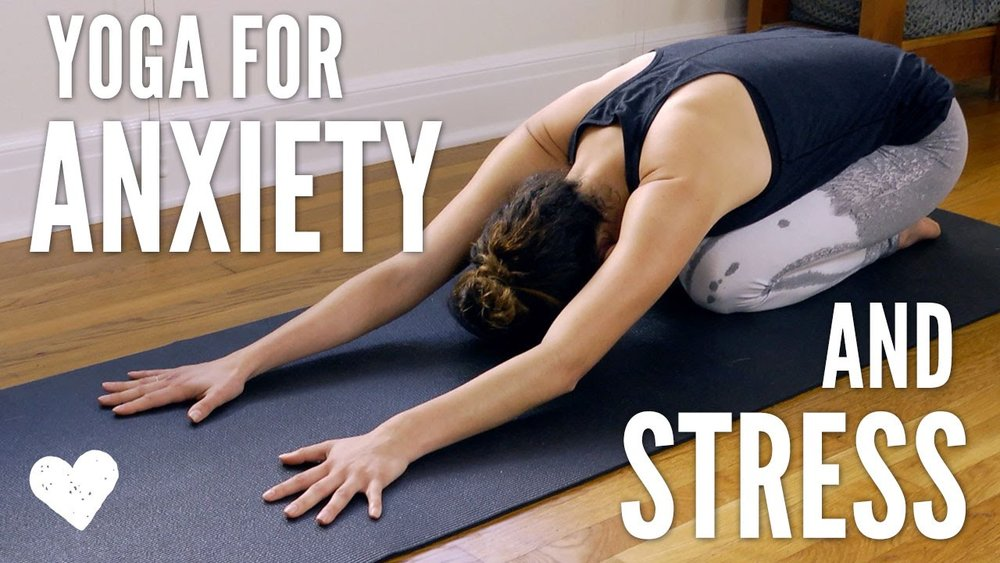 yoga helps relieve some of the sensations that accompany anxiety.