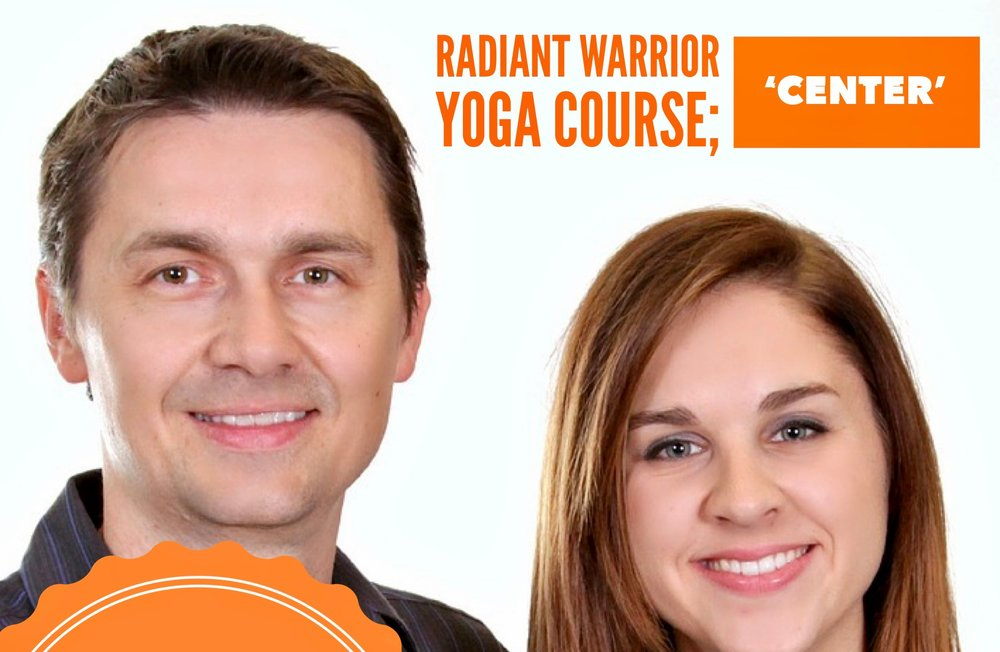 Radiant Warrior Yoga Courses - Two 10-week Radiant Warrior Yoga Courses begin in March:Radiant Warrior: Center (Wednesdays 10am-11:130)In this course we teach a moderate Qigong and hatha yoga set that everyone can do, purifying breathwork to energize the body and Center the mind, and instinctive meditations to connect you to your inner calm. Weekly lessons from the Yoga Sutras bring your yoga off the mat and into your life.Radiant Warrior: Energize (Mondays 5:30pm-6:45)In this transformational course you will learn to awaken and energize your mind, body and soul. This course will incorporate breathwork and poses from the practices and systems of Kundalini yoga. If you are looking for a deeper dive into your personal spiritual journey in a yoga class, this course is for you.