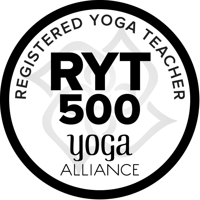 We can register your RYT 500 cerrtificate hour with Yoga Alliance at additional fee when you have completed your 8 modules, if you would like.