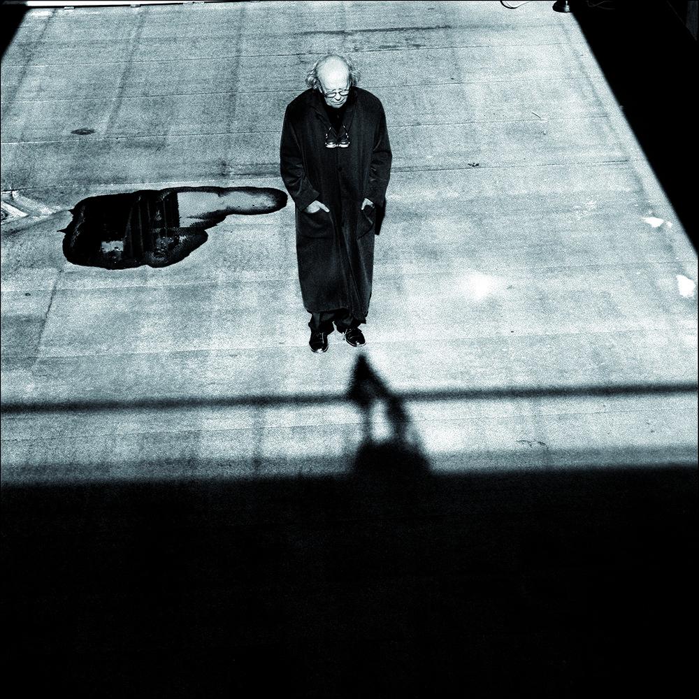 «Arne Nordheim, komponist», 2007. Foto: Morten Krogvold. Bildet er med i boken  Photographs 1977–2007