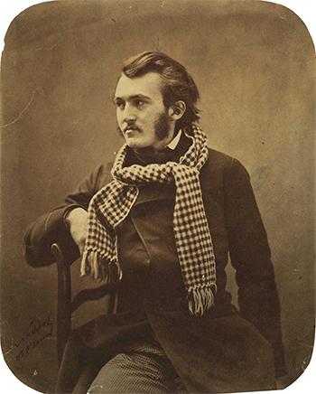 «Paul Gustave Dore». Foto: Felix Nadar mellom 1855 og 1859.