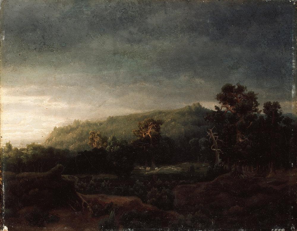 Lars Hertervigs «Skog», 1859