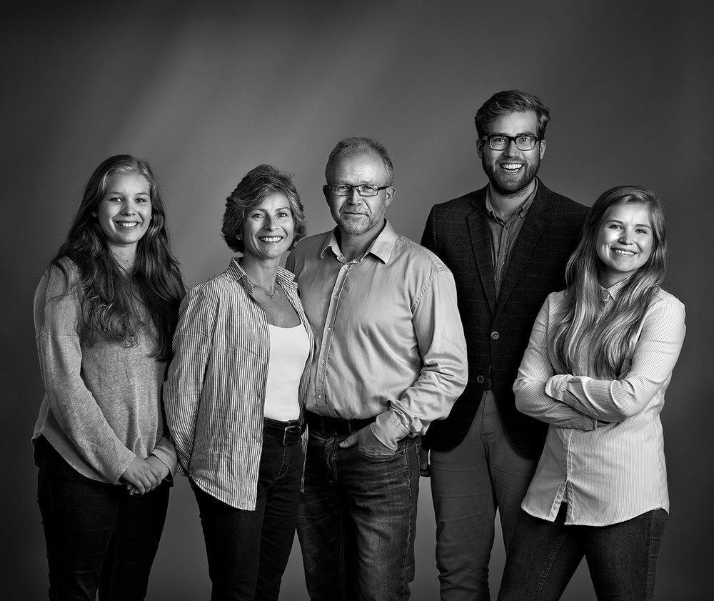 Familien Prestegård fra Voss  av Hans Jørgen Brun