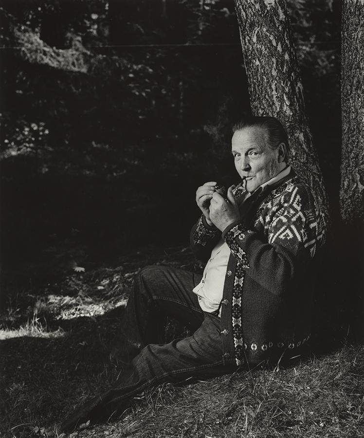 Hans Børli, forfatter  av Morten Krogvold, 1983