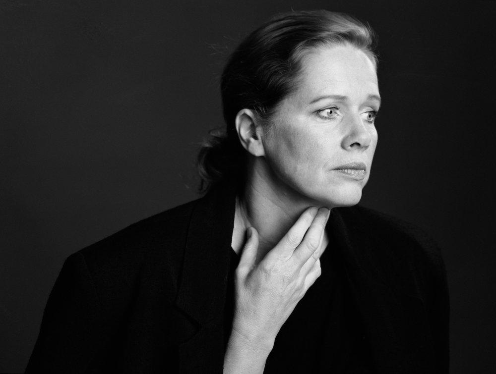 Liv Ullmann, skuespiller og regissør . Foto: Morten Krogvold, 1992