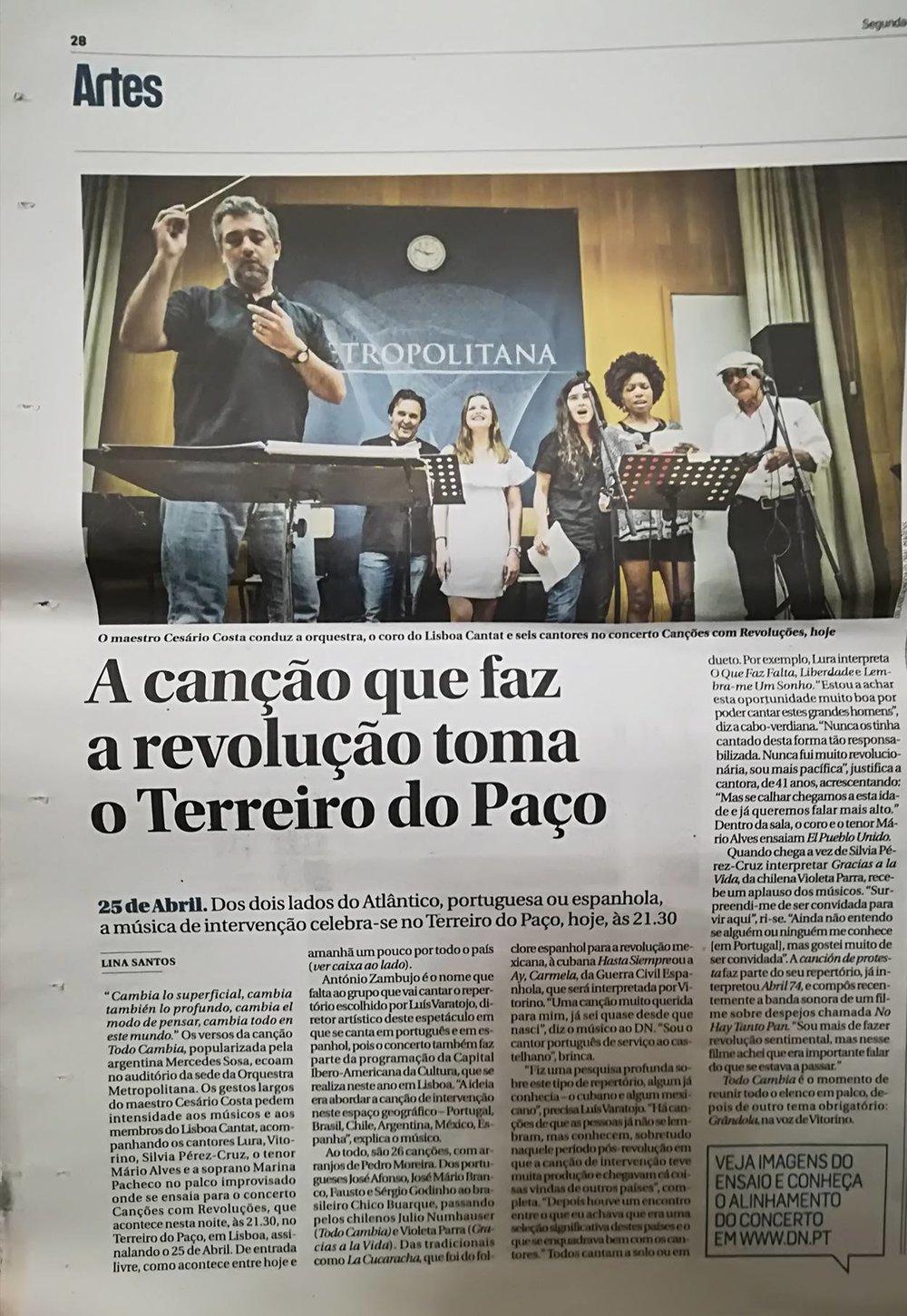 In Diário de Notícias