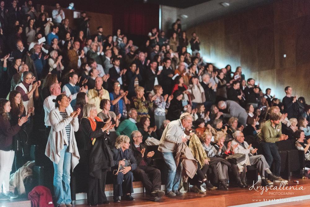 Opinião do Público e Colegas -