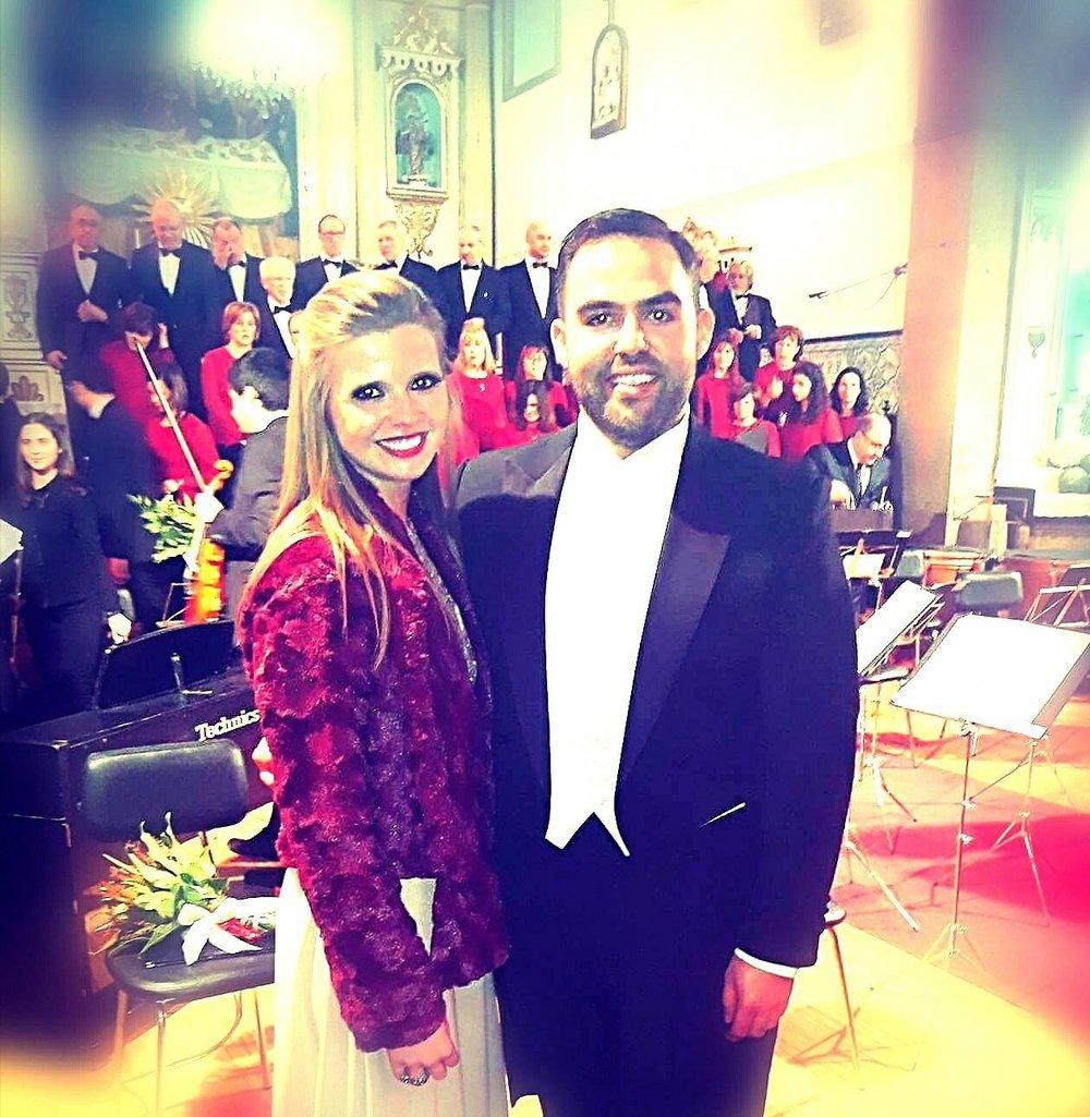 Com o tenor Pedro Rodrigues  Porto |Janeiro 2018