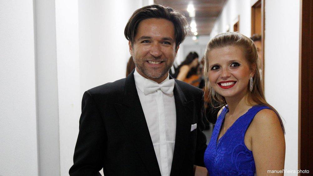 Com o maestro Helder Magalhães  Gondomar | Setembro 2017  @manuelVieira.photo