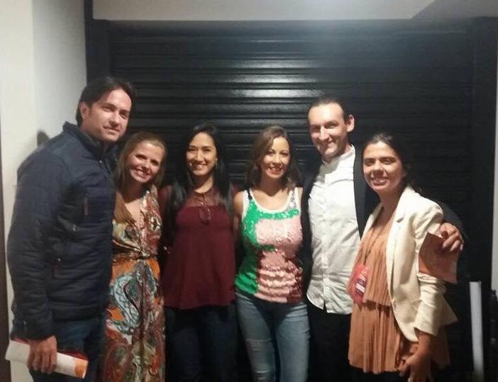 Com os Organizadores do Festival CiMa  Manizales | Agosto 2017