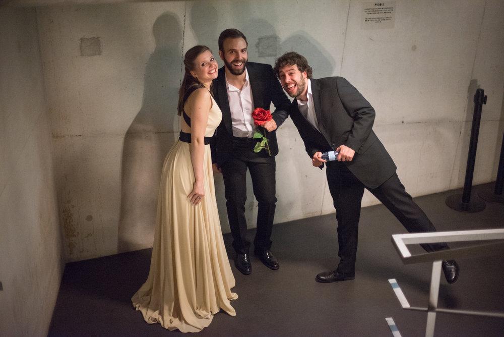 Com o Trio À la joie...  Porto | Maio 2017  @Krystallenia Photography