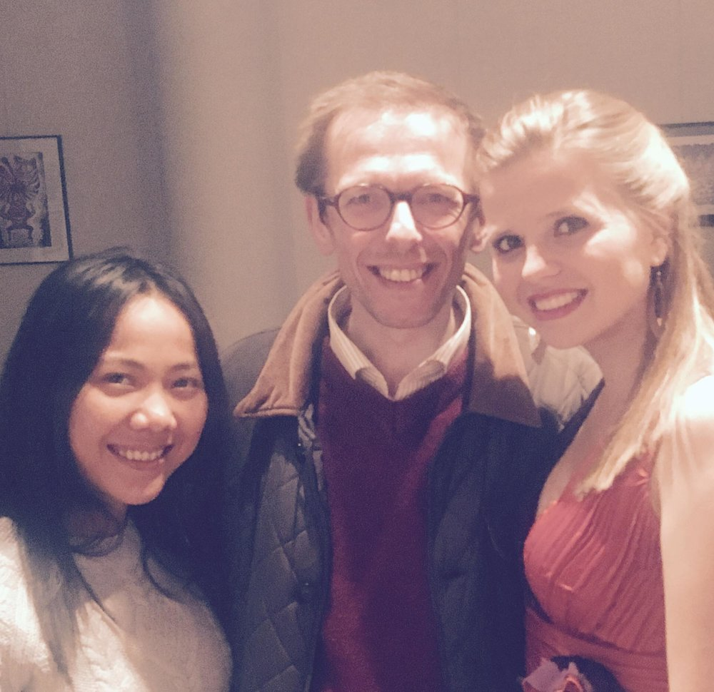 Com a soprano Nadlada Thamtanakom e o maestro Bart Bouckaert  Bruxelas | Maio 2017