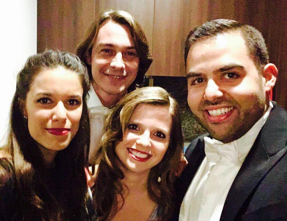 With mezzo-soprano Helena Ressurreição, bass Rui Dias and tenor Pedro Rodrigues  Famalicão | April 2017