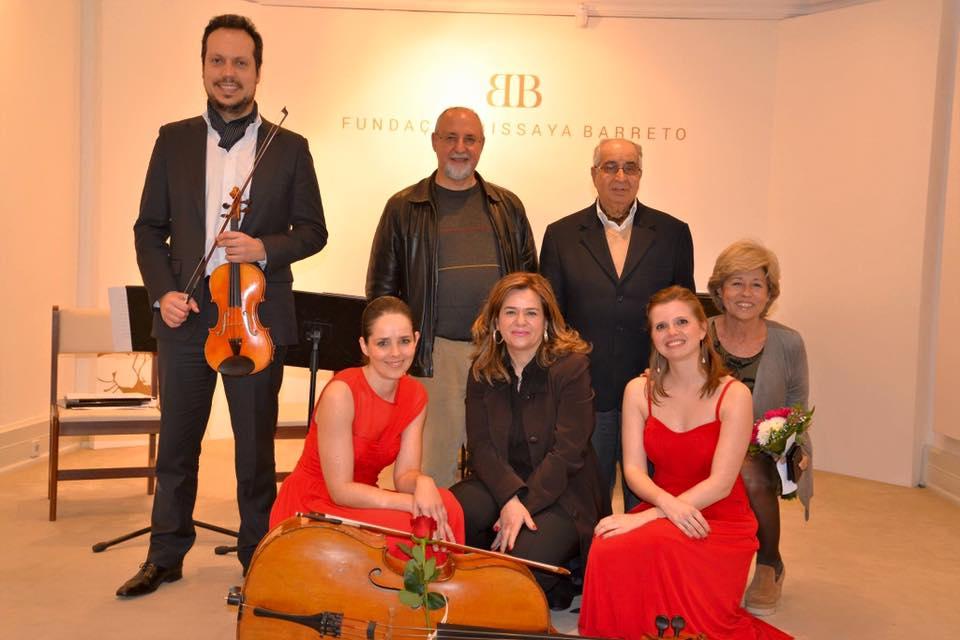 With Ensemble OCC and Fundação Bissaya Barreto Directors  Coimbra | March 2016