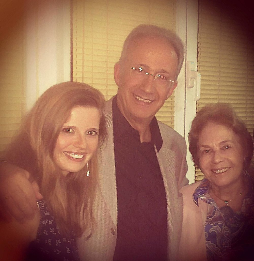 With cellists Lluis Claret and Maria Macedo  Santo Tirso | August 2014