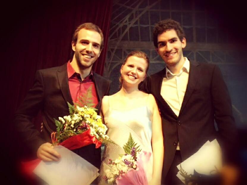 With baritones Tiago Matos and André Baleiro  Lisbon | September 2012