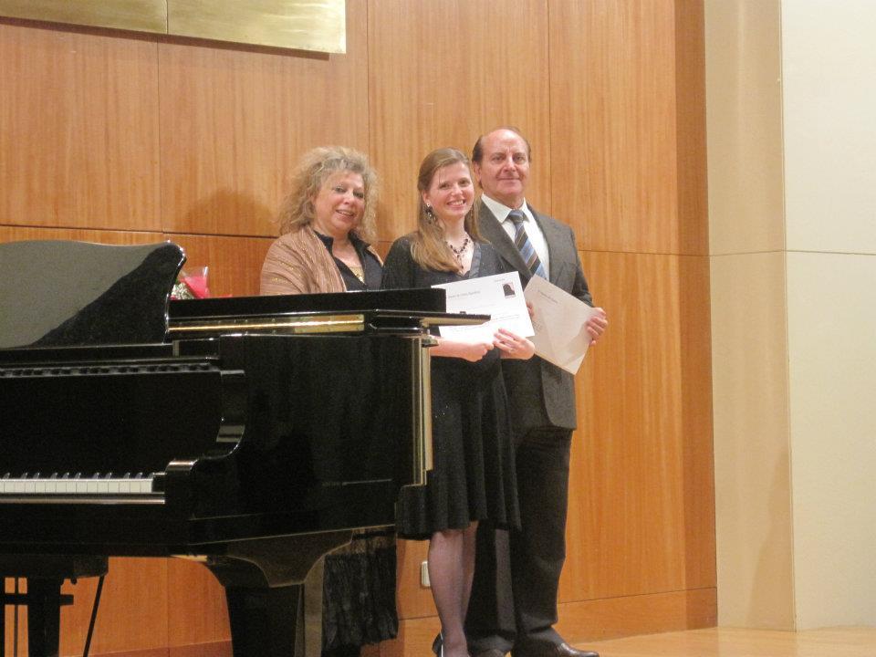 With mezzo-soprano Ambra Vespasiani and baritone Ettore Nova  Porto | May 2012