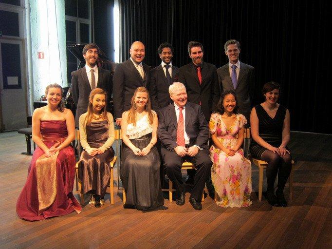 Com o pianista Graham Jonhson e os cantores do Estúdio de Ópera da Flandres  Gent | Novembro 2011