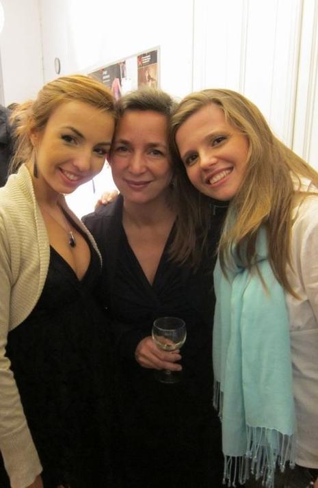 Com a soprano Bárbara Barradas e a encenadora Helen Suyderhoud  Gent | Outubro 2011